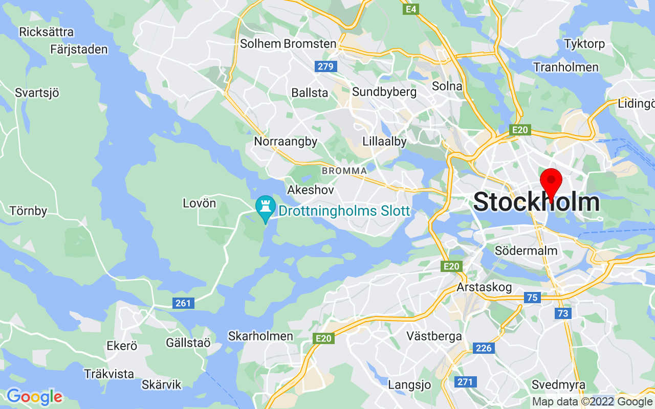 Google Map of Nationalmuseum, Stockholm