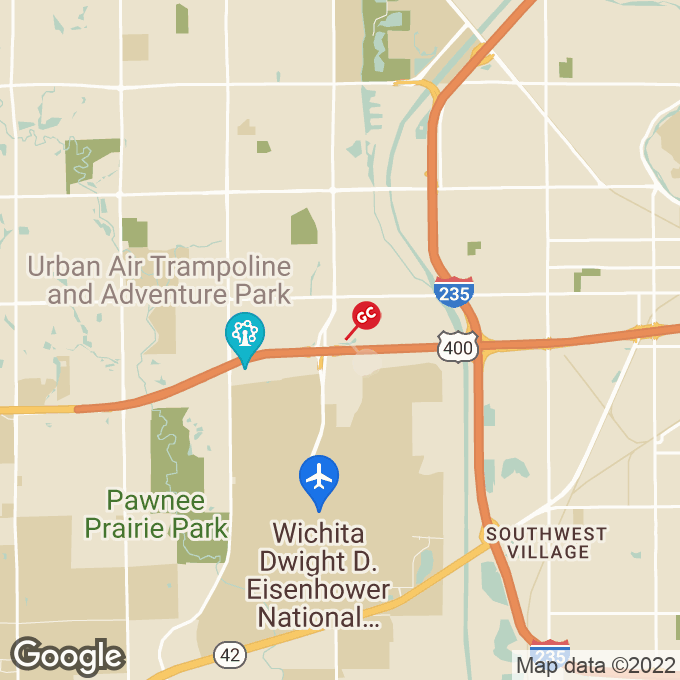 Golden Corral S Ridge Road, Wichita, KS location map