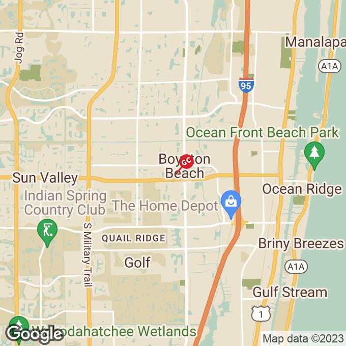 Golden Corral Winchester Park Blvd., Boynton beach, FL location map