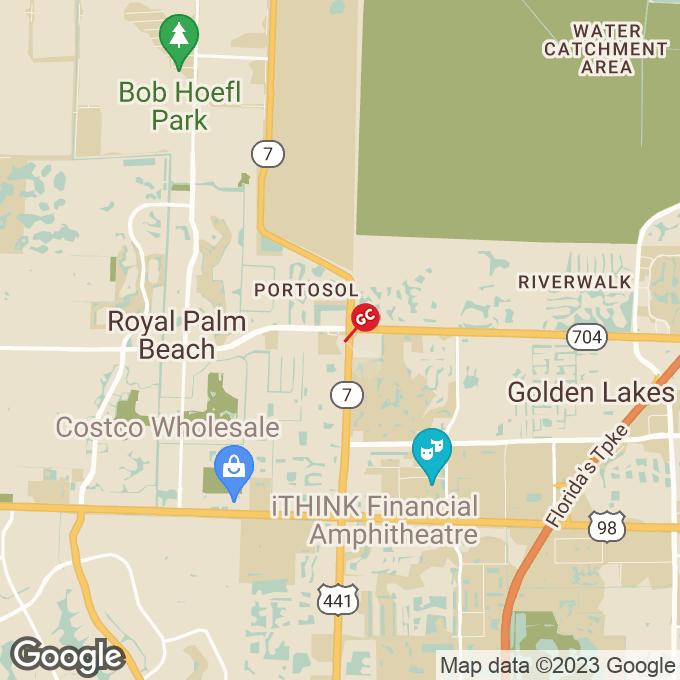 Golden Corral Fox Trail South, Royal palm beach, FL location map
