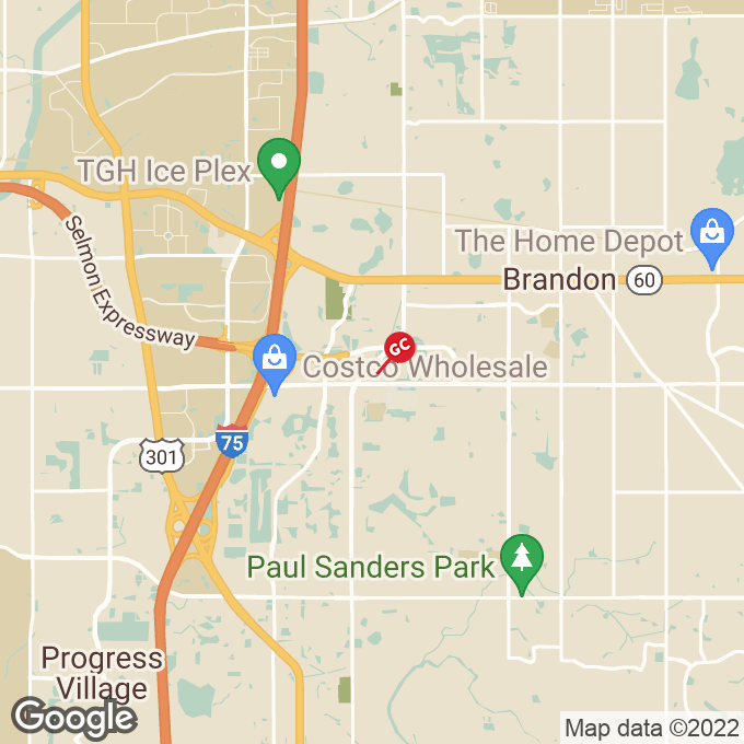 Golden Corral Providence Road, Brandon, FL location map