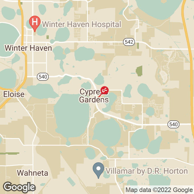 Golden Corral Cypress Gardens Blvd Se, Winter haven, FL location map