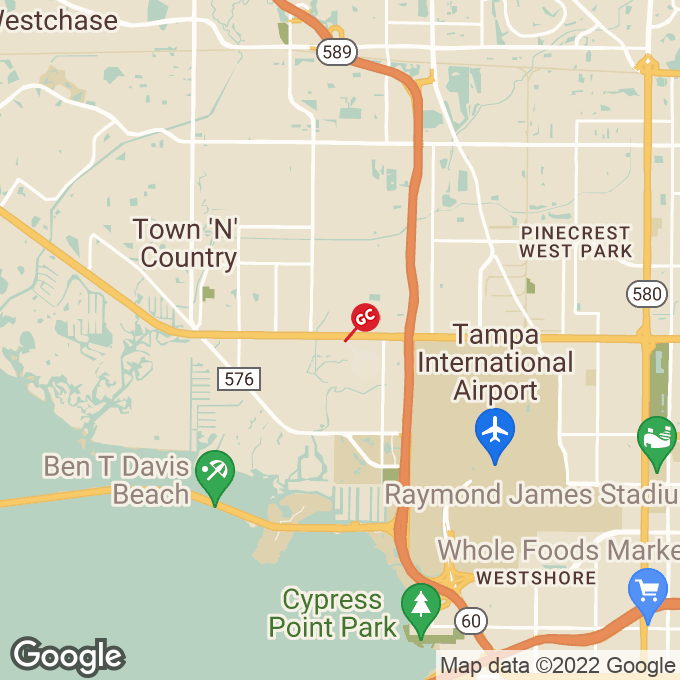 Golden Corral West Hillsborough Avenue, Tampa, FL location map