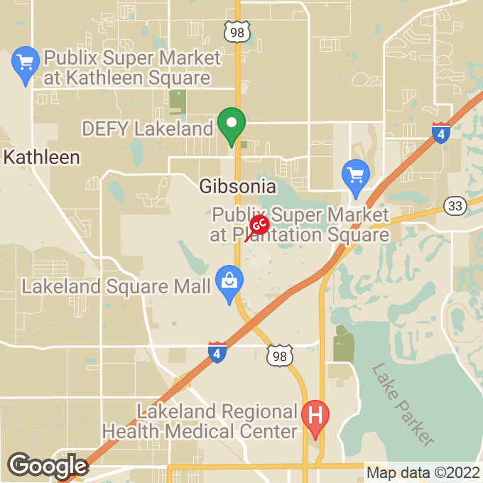Golden Corral Us 98 North, Lakeland, FL location map