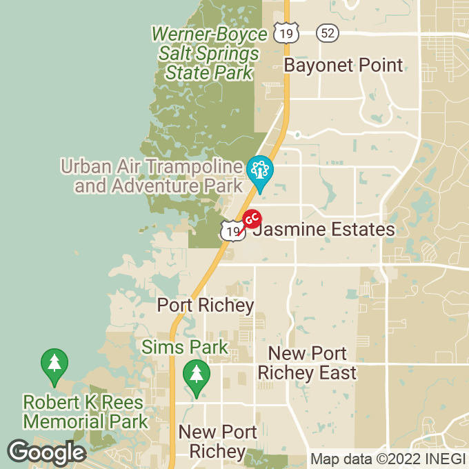 Golden Corral Us Hwy. 19, Port richey, FL location map