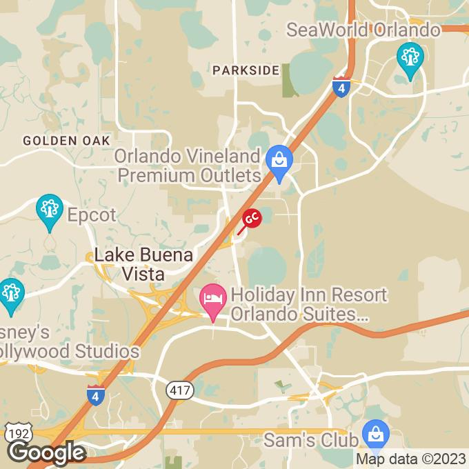 Golden Corral Vineland Avenue, Orlando, FL location map