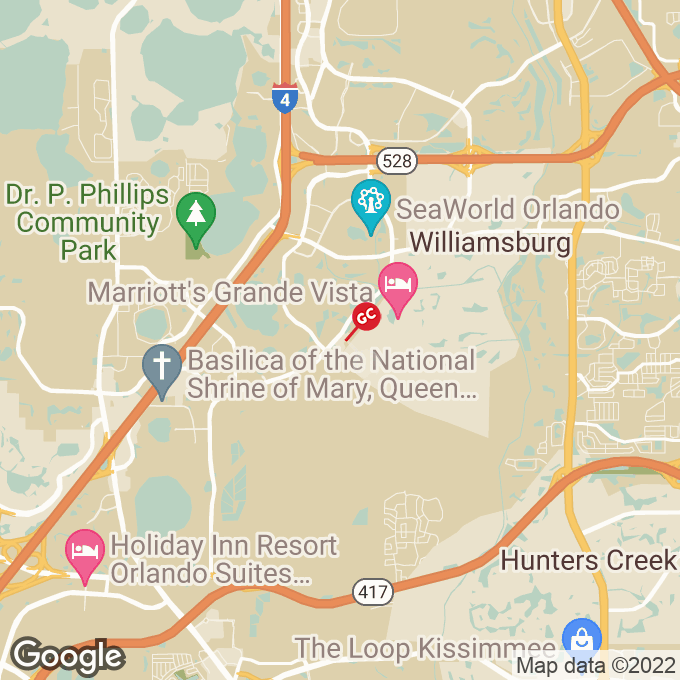 Golden Corral International Drive, Orlando, FL location map