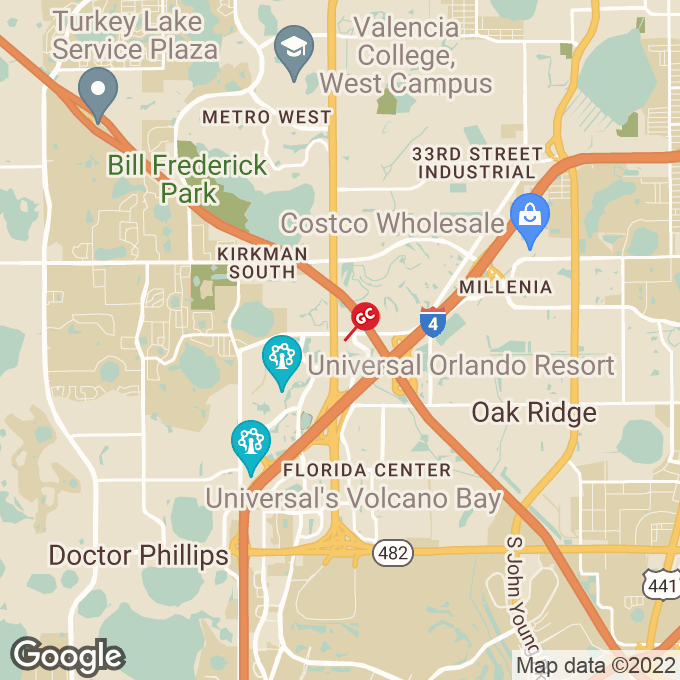 Golden Corral S. Kirkman Road, Orlando, FL location map