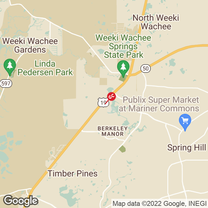 Golden Corral Commercial Way, Spring hill, FL location map