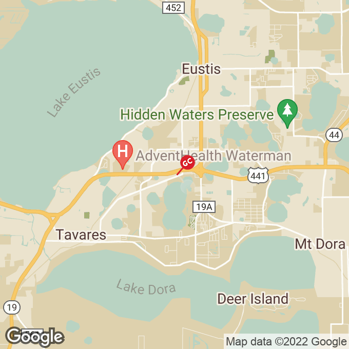 Golden Corral Highway 441, Eustis, FL location map