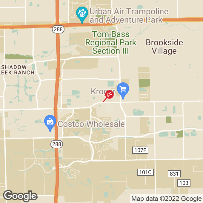 Golden Corral Broadway Street, Pearland, TX location map