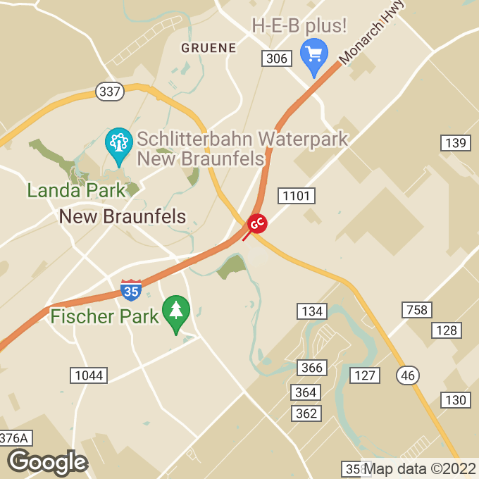 Golden Corral N Interstate 35, New braunfels, TX location map