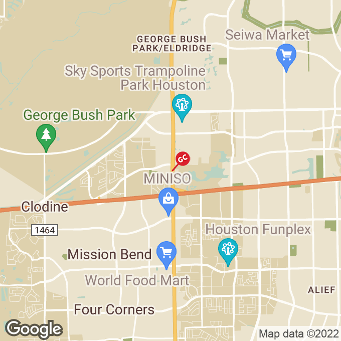 Golden Corral Hwy. 6 South, Houston, TX location map