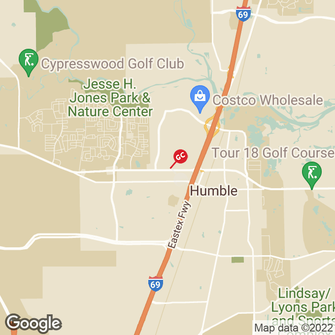 Golden Corral Fm 1960 Bypass Rd W, Humble, TX location map