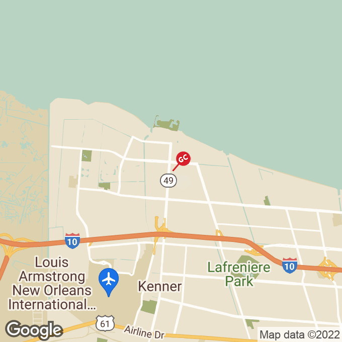 Golden Corral Williams Blvd., Kenner, LA location map