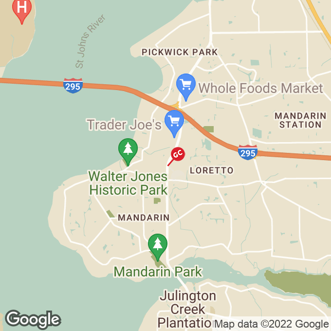 Golden Corral San Jose Blvd., Jacksonville, FL location map