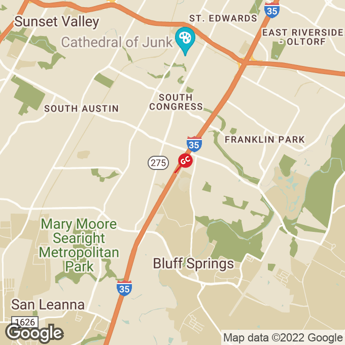 Golden Corral Ih-35s, Austin, TX location map