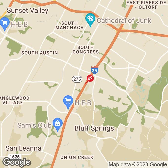 Golden Corral Ih-35s, Austin, TX location map