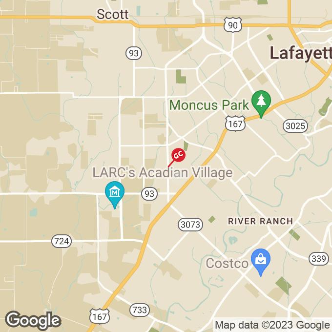 Golden Corral Ambassador Caffery Pkwy, Lafayette, LA location map