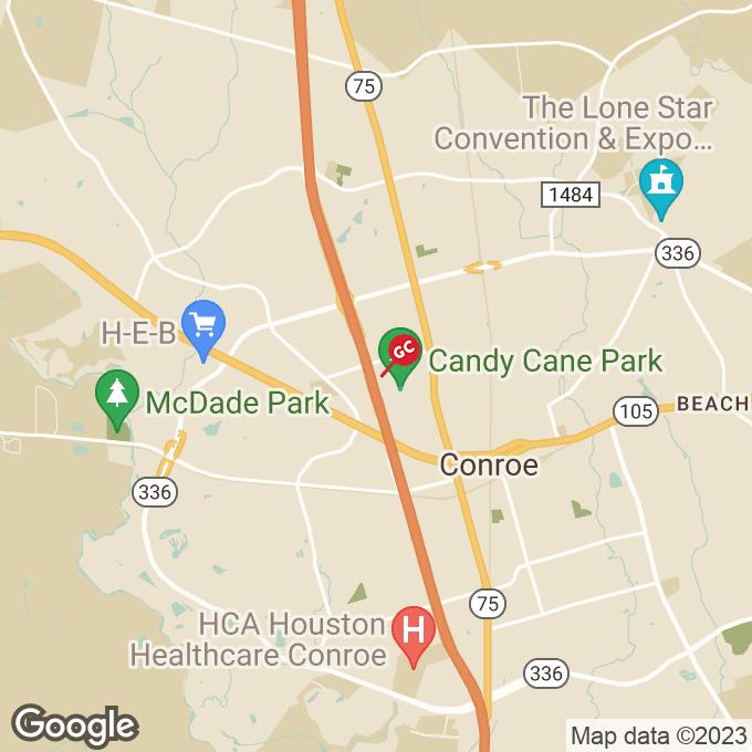 Golden Corral Ih 45 North, Conroe, TX location map