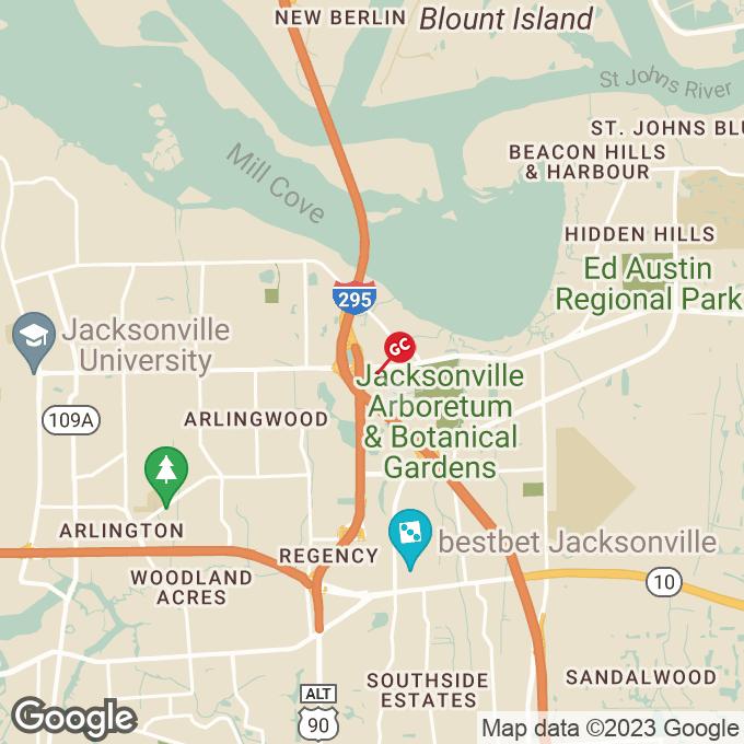 Golden Corral Merrill Rd., Jacksonville, FL location map