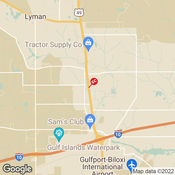 Golden Corral Hwy 49 North, Gulfport, MS location map