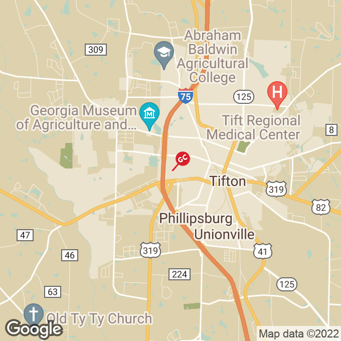 Golden Corral Virginia Ave S, Tifton, GA location map