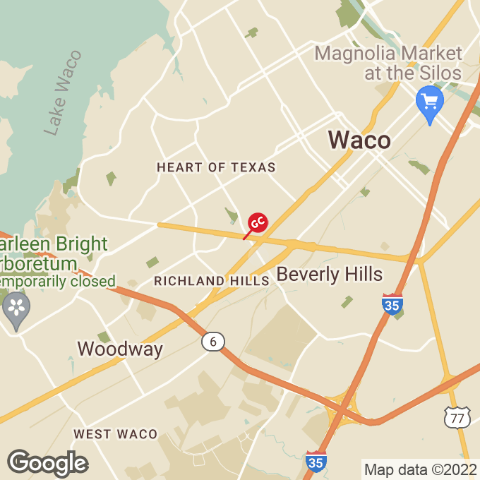 Golden Corral N Valley Mills Drive, Waco, TX location map