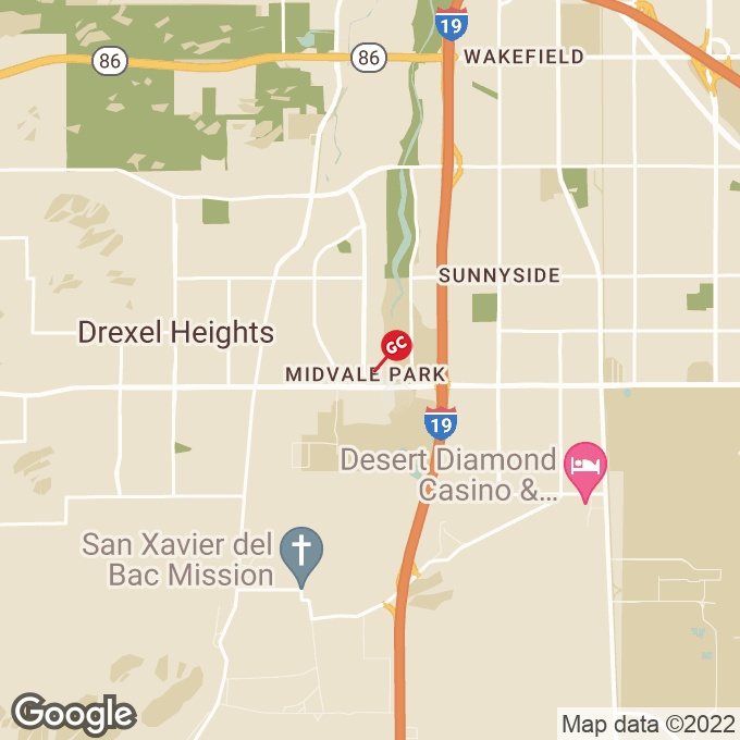 Golden Corral S. Midvale Park Road, Tucson, AZ location map