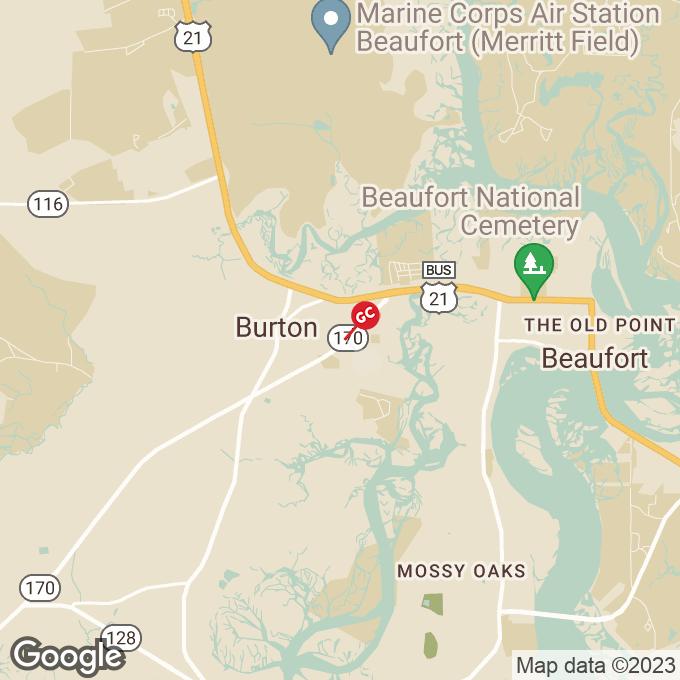 Golden Corral Robert Smalls Parkway, Beaufort, SC location map