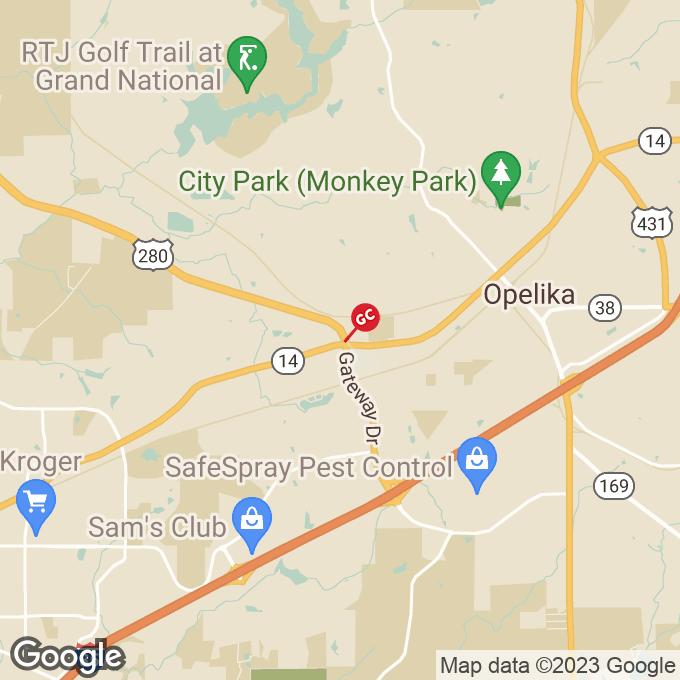 Golden Corral Birmingham Hwy., Opelika, AL location map