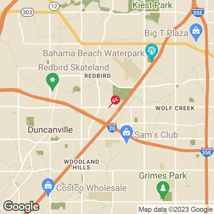 Golden Corral W. Camp Wisdom Road, Dallas, TX location map