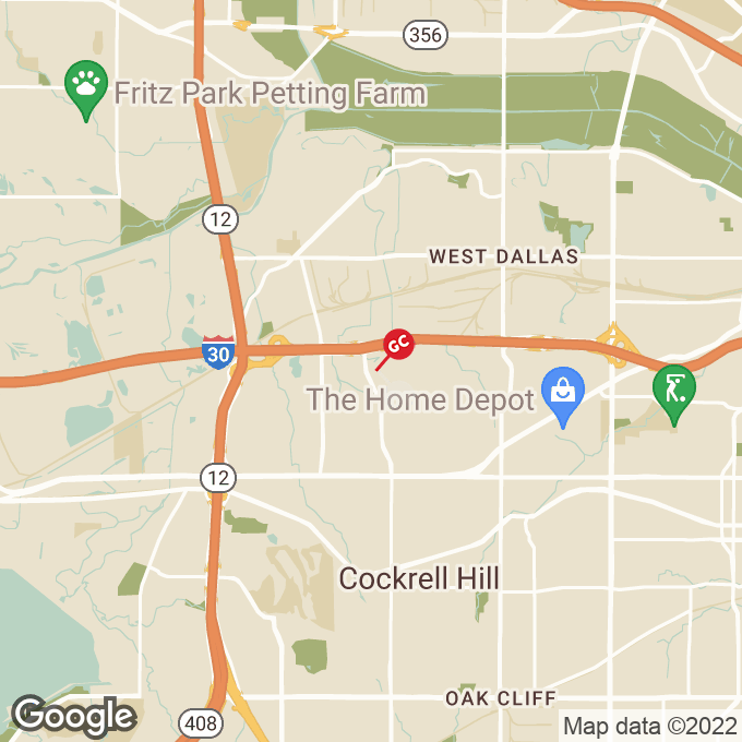 Golden Corral N Cockrell Hill Road, Dallas, TX location map