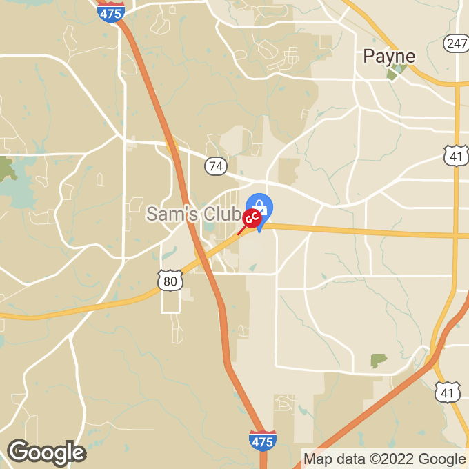 Golden Corral Presidential Pkwy., Macon, GA location map