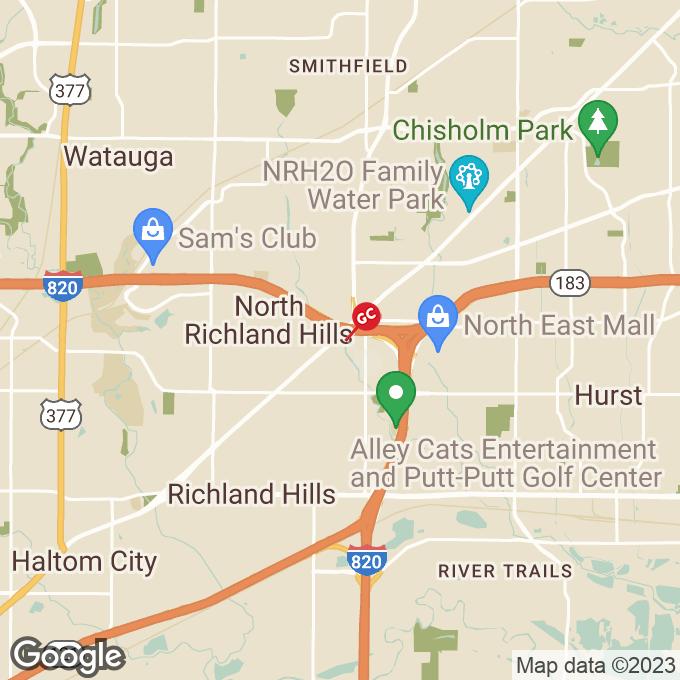 Golden Corral Grapevine Highway, North richland hills, TX location map