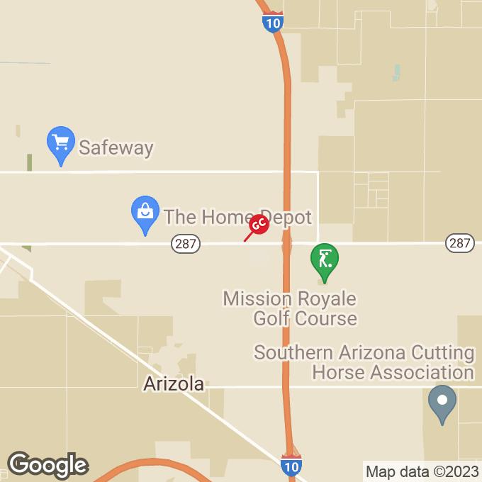 Golden Corral E. Florence Blvd., Casa grande, AZ location map