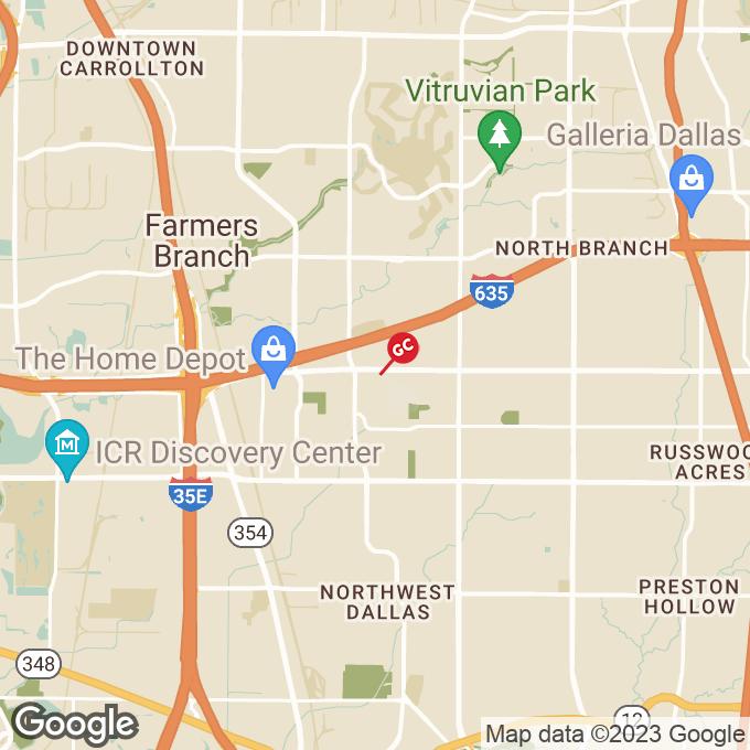 Golden Corral Forest Lane, Dallas, TX location map