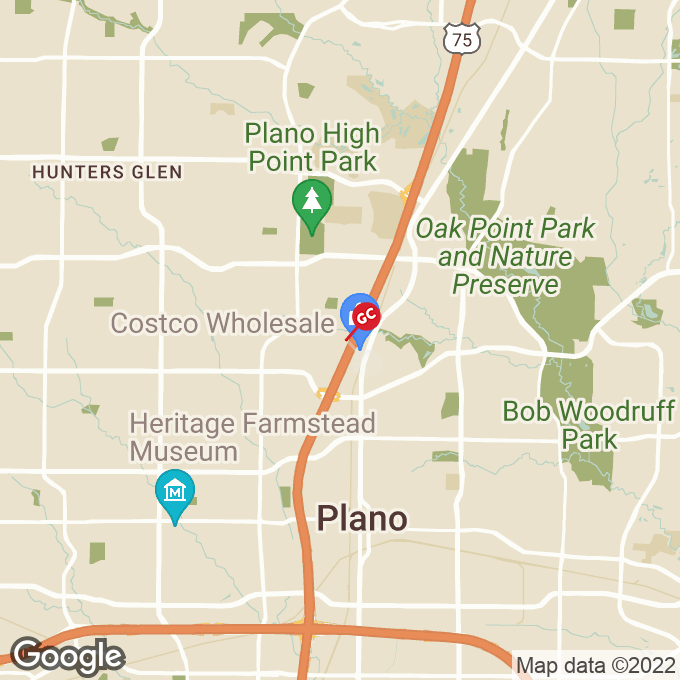 Golden Corral Premier Drive, Plano, TX location map