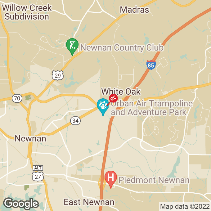 Golden Corral Bullsboro Drive, Newnan, GA location map
