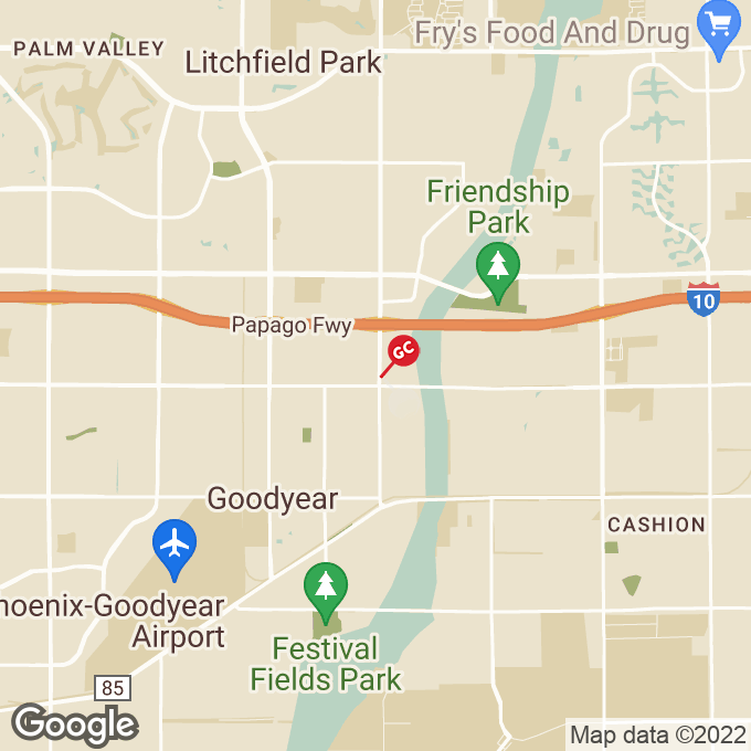 Golden Corral North Dysart Road, Goodyear, AZ location map