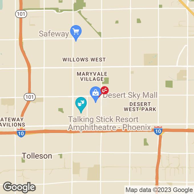 Golden Corral West Thomas Road, Phoenix, AZ location map