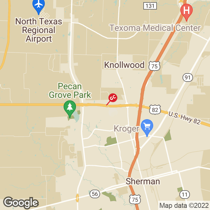 Golden Corral East Us Highway 82, Sherman, TX location map