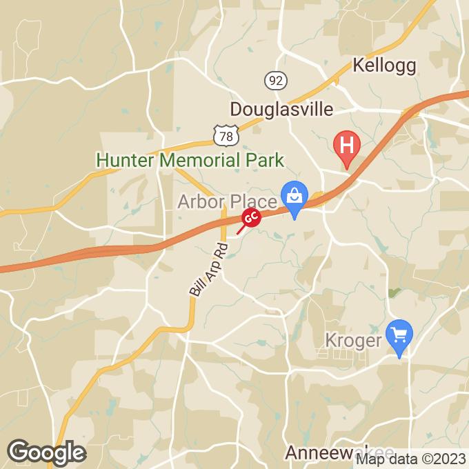 Golden Corral Douglas Boulevard, Douglasville, GA location map