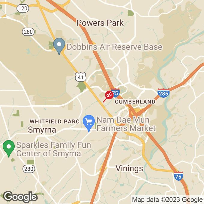 Golden Corral Cobb Pkwy. Se, Smyrna, GA location map