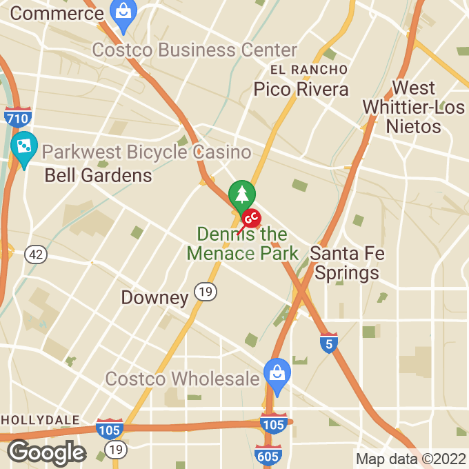 Golden Corral Lakewood Blvd, Downey, CA location map