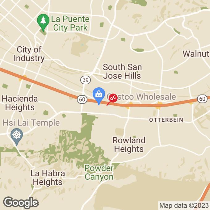 Golden Corral Castleton Street, City of industry, CA location map