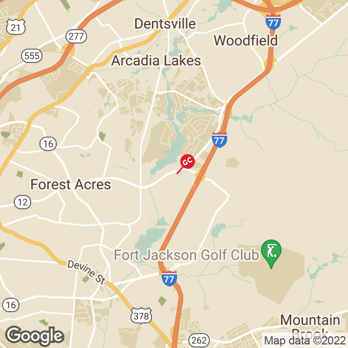 Golden Corral Forest Drive, Columbia, SC location map