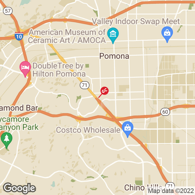 Golden Corral Rancho Valley Drive, Pomona, CA location map