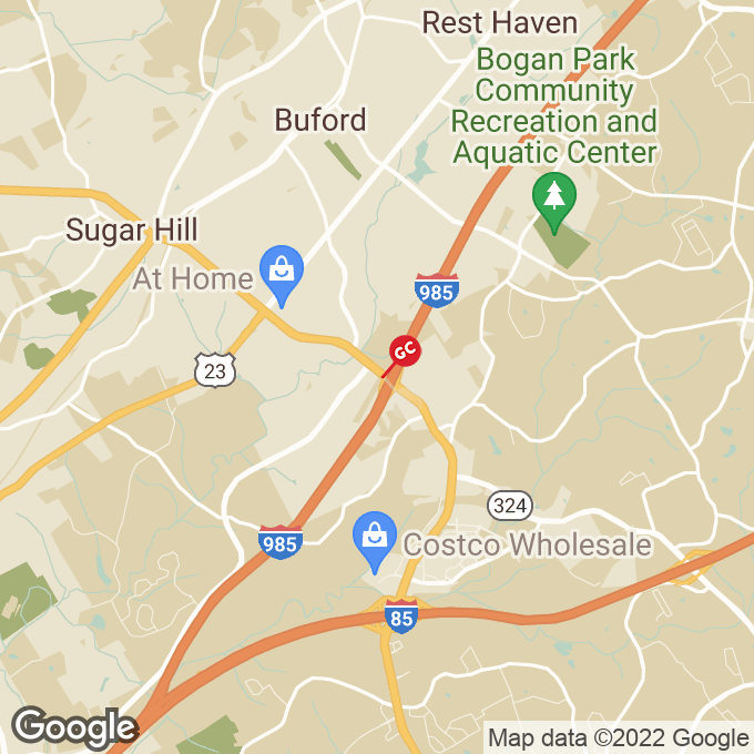Golden Corral Highway 20, Buford, GA location map