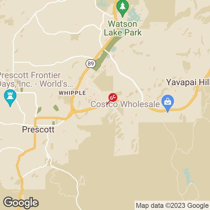 Golden Corral East Hwy 69, Prescott, AZ location map